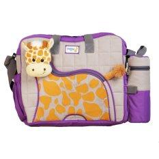 Review Tentang Snobby Tas Bayi Besar Saku Aplikasi Boneka Tbsd Giraffe Series Tpt 1577 Ungu Tas Bayi