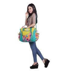 Toko Snobby Tas Bayi Besar Saku Extra Size Color Marbles Kuning Di Jawa Barat