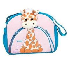 Snobby Tas Bayi Medium Saku Aplikasi Boneka Giraffe Series TPT 1176 Pink Toska
