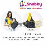 Beli Warungsiboss Snobby Tpg 1645 Gendongan Samping Double Fungsi Topi Serut Line Series Online Terpercaya