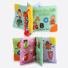Soft Cloth Baby Boys Girls Books Rustle BB Teether Sound Infant Educational Stroller Rattle Toys For Newborn Baby 0-12 Months Style:Style A 3946