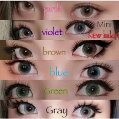 Softlens New Bluk / Soft Lens NEWBLUK Baby Eyes Made in Korea - Green 1 Pasang