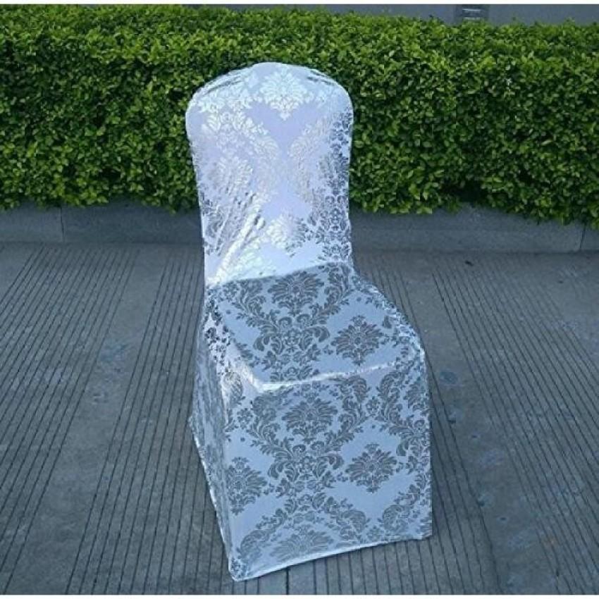 Sorive Burlap Lace Chair Sashes Bows Party Decoration untuk Rustic Wedding Centerpieces dan Shower Pengantin DIY Kerajinan-5.9 Oleh 108 Inch (Kursi Cover 1) -Intl