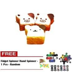 Rp 43.390. Squishy Jumbo Emoticon Bread Squishy Roti Tawar Emoticon Jumbo Slow Rising ...