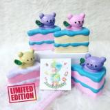 Promo Squishy Murah Oriker Bear Cake Squishy Licensed Slow Squishy Not Specified Terbaru