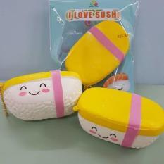 Squishy Tamago Egg Emoticon Sushi licensed by Sanqi Elan