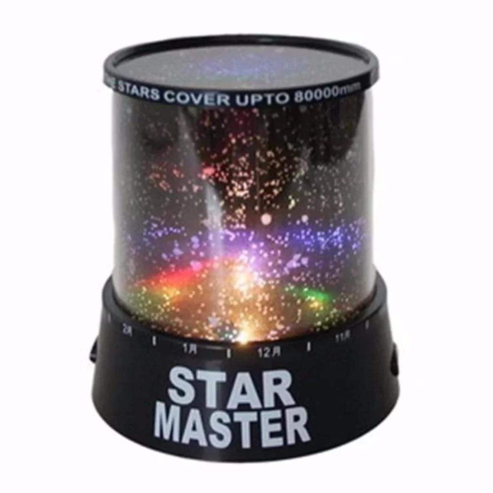 Star Master - Lampu hias kamar tidur proyektor bulan bintang