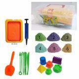 Jual Cepat Starstore Pasir Kinetik Sand Mainan Anak Paket Mainan Edukatif Kinetic Sand Complete Set