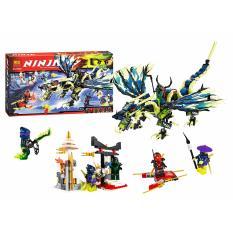 StarWego Mainan Edukasi Lego Bela Ninja Thunder Swordsman 10400