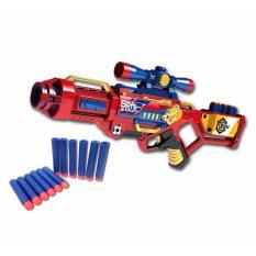 Jual Starwego Mainan Pistol Busa Manual Soft Bullet Gun 7068 Original