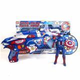 Spesifikasi Starwego Pistol Busa Soft Bullet Gun Captain America Sb268A Dan Harganya