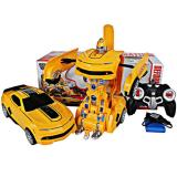 Review Starwego Rc Car Robot 2In1 Deformation Transformer Bumblebee 999 1 Starwego Di North Sumatra