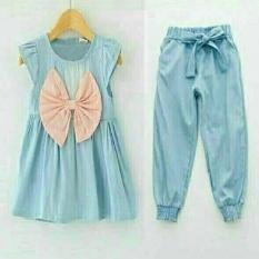 Stelan Febby Kids Denim [Baju Anak 0106] QHW