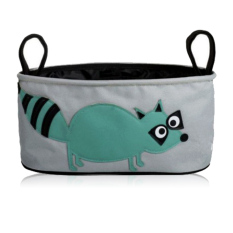 Beli Stroller Baby Organizer Stroler Bag Organizer Motif Musang Lucu Os 11 Blue