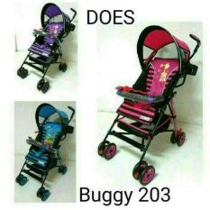 Stroller Murah Bugy Does 203/kreta bayi murah/terlaris