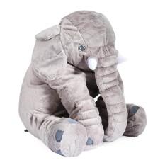 Stuffed Lucu Simulasi Giant Gajah Mewah Doll Mainan Bantal dengan Hadiah Ulang Tahun Natal Selimut-Internasional