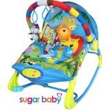 Jual Sugar Baby 10 In 1 Premium Bouncer Rocker Rainbow Forest Sugar Baby Branded