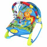 Review Tentang Sugar Baby 10 In 1 Premium Bouncer Rocker Rainbow Forest Multicolour