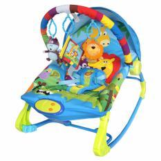 Harga Sugar Baby 10 In 1 Premium Bouncer Rocker Rainbow Forest Multicolour Sugar Baby Original