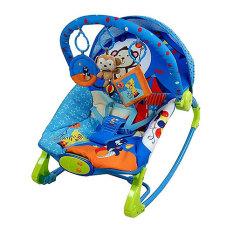 Beli Sugar Baby 10 In 1 Premium Rocker Bouncer Circus Carnival Blue Ayunan Bayi Kursi Goyang Bayi Sugarbaby Murah