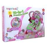 Review Sugar Baby 10 In 1 Premium Rocker Little Owl Pink Bouncer Baby Atau Ayunan Bayi Terbaru