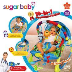 Beli Sugar Baby 1St Class Premium Rocker 10 In 1 With Melodies And Soothing Vibrations Kursi Lipat Bayi Rainbow Forest Secara Angsuran