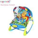 Review Toko Sugar Baby Rck30001 Rainbow Forest 10 In 1 Premium Baby Bouncer Rocker Ayunan Bayi Biru Online