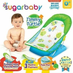 Sugar Baby Btr0005 Timmy Turtle Deluxe Baby Bather - Bangku Mandi Bayi (Hijau)