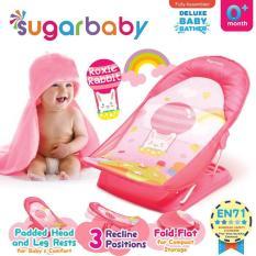 Harga Sugar Baby Deluxe Baby Bather Roxie Rabbit Kursi Mandi Bayi Btr0006 Pink Merk Sugar Baby