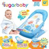 Spek Sugar Baby Deluxe Baby Bather Wolly Whale Kursi Mandi Bayi Biru
