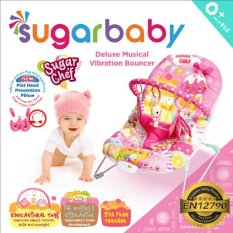Jual Sugar Baby Deluxe Musical Vibration Bouncher Sugar Chef Sugar Baby Ori