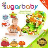 Miliki Segera Sugar Baby Deluxe Musical Vibration Bouncher Sugar Fox