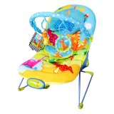 Sugar Baby Fun Dino Musical Deluxe Baby Bouncer Biru Terbaru