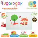 Tips Beli Sugar Baby Green Fox Organic Healthy Cot Sheet Perlak Bayi Organik 90 X 60 Cm