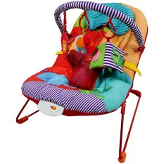 Spesifikasi Sugar Baby Happy Zoo One Recline Baby Bouncer Multiwarna Lengkap