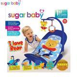 Harga Sugar Baby Inf30001 I Love Bear Infant Seat Kursi Duduk Bayi Biru Terbaik