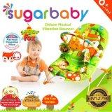 Beli Sugar Baby Sugar Fox Deluxe Musical Vibration Bouncer Ayunan Bayi Hijau Online