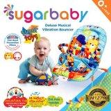 Penawaran Istimewa Sugar Baby Sugar Toys Deluxe Musical Vibration Bouncer Ayunan Bayi Biru Terbaru