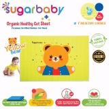 Beli Sugar Baby Yellow Bear Organic Healthy Cot Sheet Perlak Bayi Organik 90 X 60 Cm Sugar Baby Dengan Harga Terjangkau