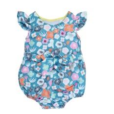 Jual Musim Panas Bayi Anak Perempuan Cute Sleeveless Floral Print Romper Jumpsuit Intl Lengkap