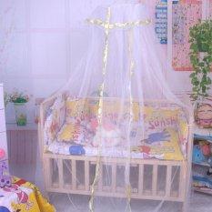 Spesifikasi Musim Panas Bayi Kelambu Bed Canopy Kelambu Bayi Balita Putih Sayang Dome Internasional Terbaik