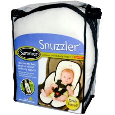 Jual Summer Infant Velboa Snuzzler Alas Stroler Car Seat Putih Satu Set