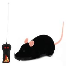 Sunnyshopremote Pengendali RC Tikus Mouse Nirkabel untuk Anjing Kucing Kucing Mainan Kebaruan Hadiah Lucu
