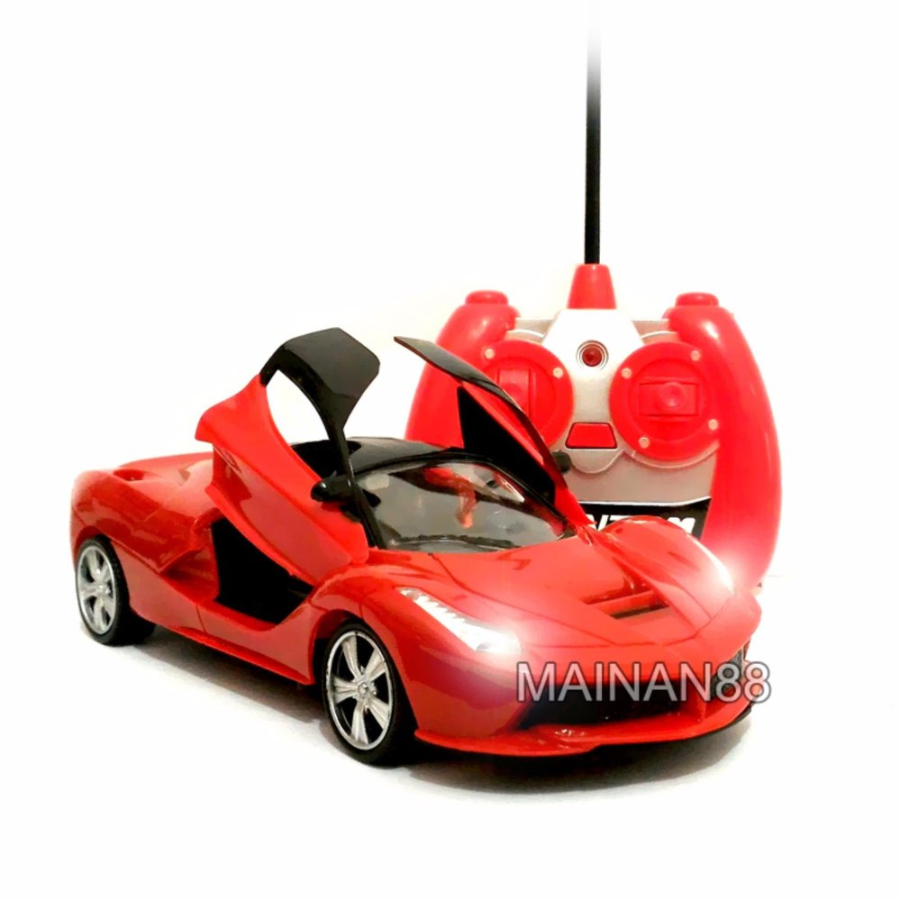 ... Anak Mobil Source · Price Checker MAINAN88 RC Mobil Balap Skala 1 24 Pintu Buka Tutup dengan Remote Mainan