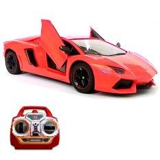 Harga Super Racer Rc Mobil Lamborghini Aventador 41 Cm Pintu Buka Tutup Dengan Remote Origin