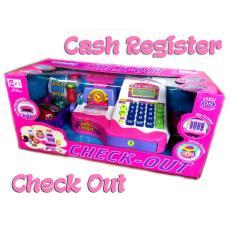 Supermarket Check Out Cash Register Pink / Timbangan / Mainan Anak - Hp7lh7