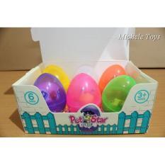 Jual Beli Surprise Egg 6 Pcs Figure Littlest Pet Shop Lps Wtny5Y Di Jawa Timur