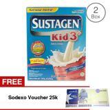 Spesifikasi Sustagen Kid 3 Susu Pertumbuhan Rasa Vanila 1200Gr Bundle Isi 2 Free Sodexo Voucher 25K Yang Bagus Dan Murah