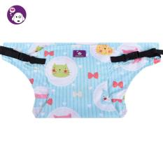 Svoovs Murni Kapas Balita Baby Makan Kursi Tinggi Rangkaian Booster Travel Outdoor Car Portable Safety Seat Belt Strap, Kitten-Intl