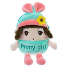Sweet Multifunctional Stuffed Cartoon Design Zipper Change Purse for Girls - intl